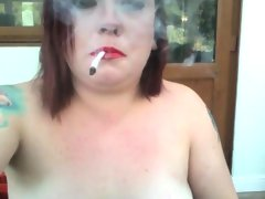 Snua nude smoking fetish