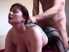 Busty british redhead dominated with..