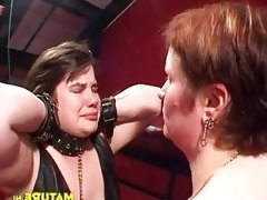 Fat bdsm 3some