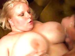 Big mama gets banged