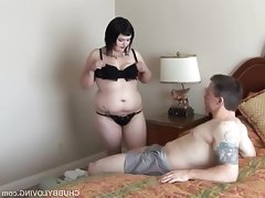 Cute chubby goth is a super hot fuck..