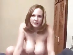 Horny plumper with hot tits fucked