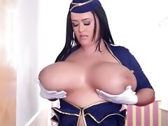 Leanne crow huge natural tits sexy..