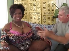 Marlise morgan, the black bbw dick..