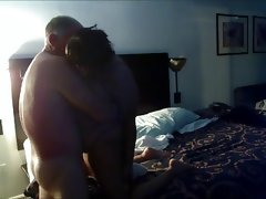 Interracial fun in motel hot affair..