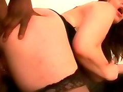 Fat lingerie girl hardcore interracial