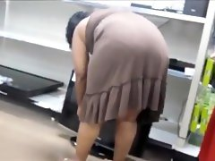 Voyeur cam sex clip is showing a..