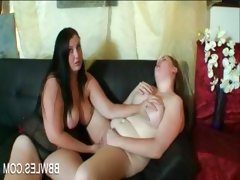Bbw naked lesbo getting cunt rubbed