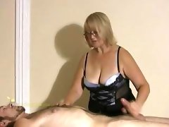 Big titted professional masseuse..